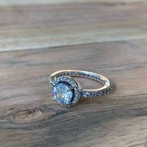 Sterling Silver Pandora Ring Size 7 !
